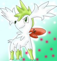 Shaymin form sky by Mast88