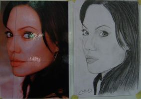 angelina jolie by mitahav