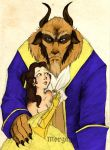 Beauty and the Beast - Disney by morganadulac