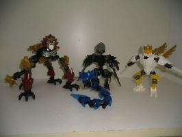 All MOCs Made From LoC Action Figure Parts So Far by Eli-J-Brony