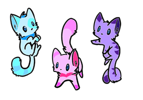 Closed Kitty Adopts by FrozenDiamond267