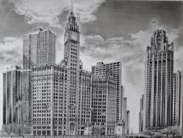 The Magnificent Mile by RMoy-Art