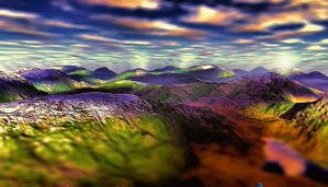 Color My World LXXV by montag451