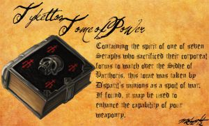 Heretic Artifacts: Tyketto's Tome of Power by Liamythesh