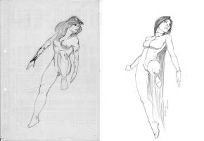 Sketch Evolution 1992 - 2007 by wender