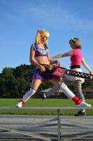 Lollipo Chainsaw: Strut by arienettee