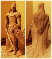 Feanor Sculpture by JabberBabyWocky645