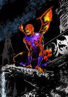 Gargoyle by tomcrielly