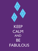 Keep Calm and be Fabulous by SuperNiall64