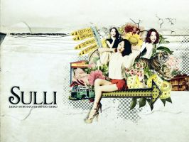 [Wallpaper] Sulli by shinervashiro