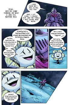 Flowey Is Not a Good Life Coach - Chap. 4, page 11 by fluffySlipper