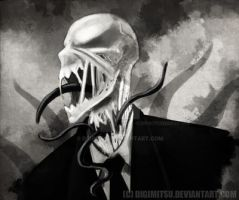 Slenderman Tendrils Errywhere by Digimitsu