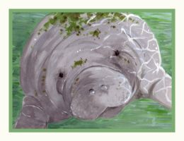 chubbs the manatee by YellowCat