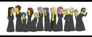 OrganizationXIII- Simpsons by Sukkahousu