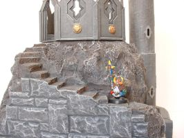 Dwarf Tower -detail 2 by clevella