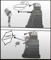How to Defeat a Dalek by MyaWho