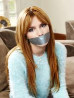 Bella Thorne Duct Tape Gagged by Goldy0123