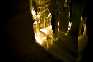 Ice Hotel by summer