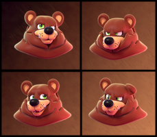 Blender Doodles(?): A Bear! by SmashingRenders