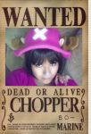 chopper cosplay- wanted by ana02tenshi