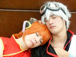 Gintama - Sleep by YumiAznable
