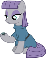 Maud Pie and Boulder by SilverMapWolf