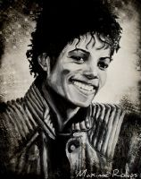 Michael Jackson Painting by maximerokus