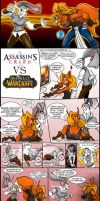 AssasinsCreed VS Wow by oldxer