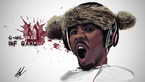 G-mo Skee Speed Painting (First SP) by Adamowsky-Design