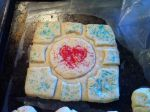 Sugar Companion Cube Cookie by Kitten-sama