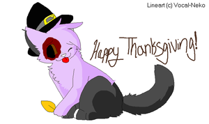 happy thanksgiving! by stephany-evil