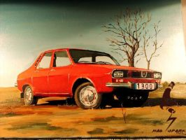 Dacia oil paint by madsparkairbrush