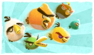 Angry Birds by thurZ