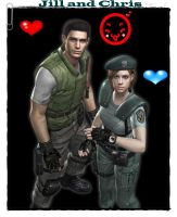 Jill and Chris by cellamare