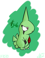 Larvitar by Aruesso