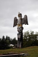Canada - Totem Pole III by puppeteerHH