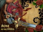 Rose in the Shell by LeonStar123