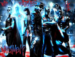 WATCHMEN wallpaper by Lord-Corr