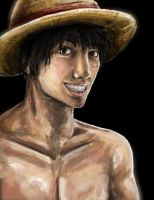 .:Monkey D. Luffy:. by CodeNameZimbabwe