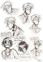 UNWANTED :: Messy JB Sketches by Inonibird