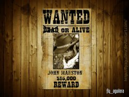 Wanted DEAD or alive by flyaguilera