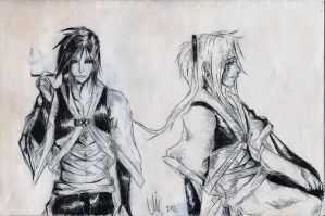 Akito Concept Art, Inked by vlewis123