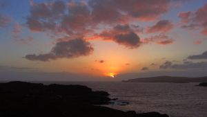 Sunset above Scourie Bay 2 by rollarius55