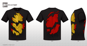 Dragon Inside T-Shirt by Solcarn