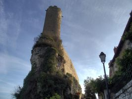 Turenne 08 - Medieval Castle by HermitCrabStock