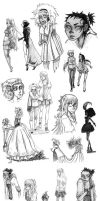 Sketch Dump by Prince-Zaire