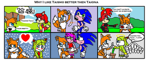 Why Taismo is better then Taiona... by scifiguy9000