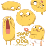 Jake the Dog by TsukishimaYume