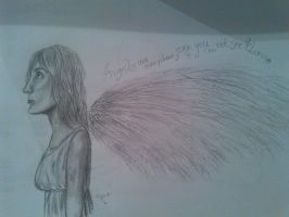 Angels are everywhere, even if you can't see them. by Sonnenelfe