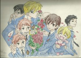 Ouran High School Host Club by ElvenWarrior14